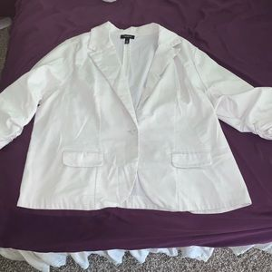 Torrid - White Blazer - Size 3